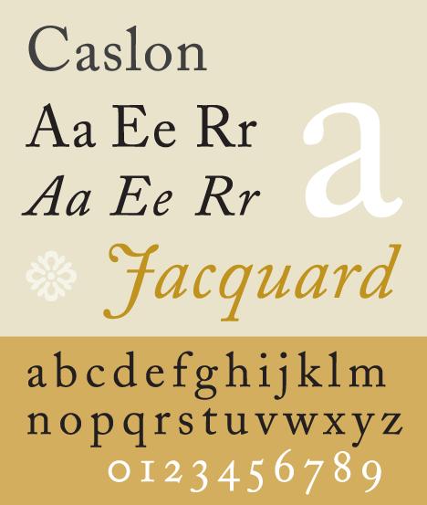 No. 5 - Caslon