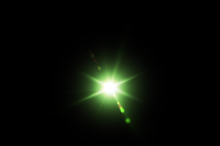 optical lens flares