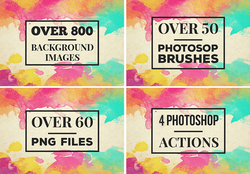 888+ BACKGROUNDS and PHOTOSHOP Essentials