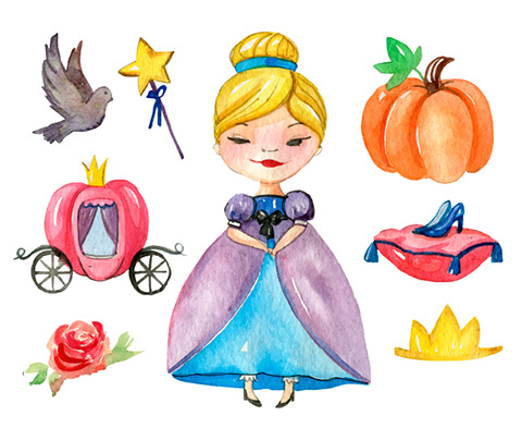 Free Fairytales Watercolor