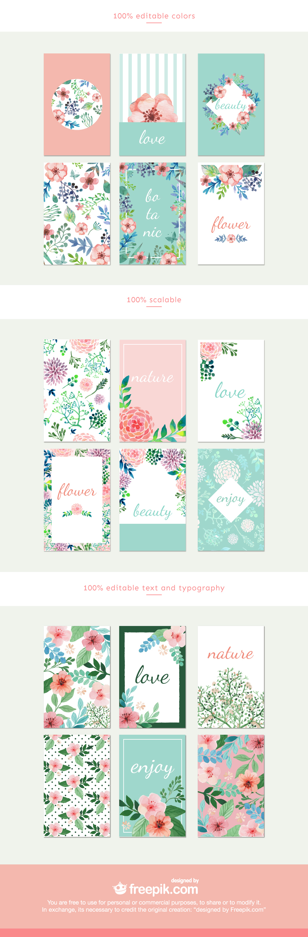 FREE_Watercolor_Flower _Cards_Collection