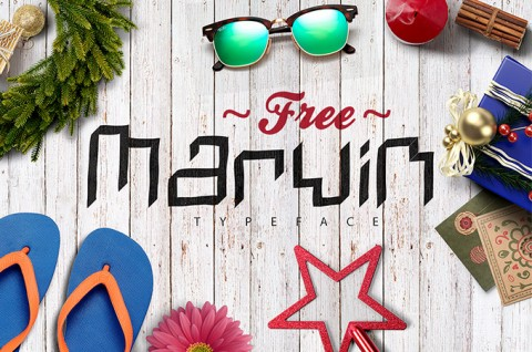 Marvin-Free-Font-Cover