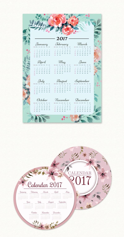 Watercolor-Calendar-Collection-Preview-01
