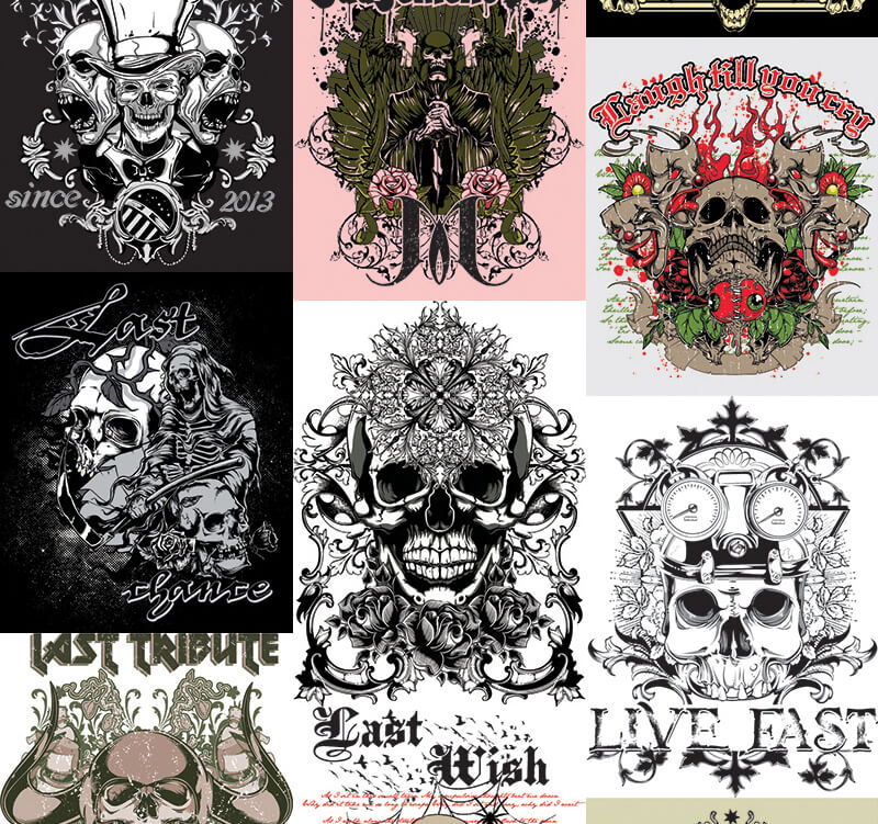 217 Tshirt Designs Preview 14