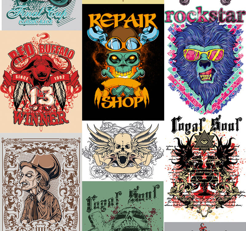 217 Tshirt Designs Preview 22