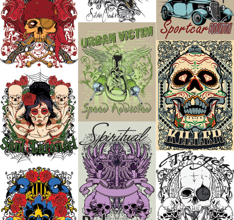 217 Tshirt Designs Preview 25