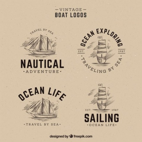 pack-of-hand-drawn-boat-logos-in-vintage_23-2147618935-650x650
