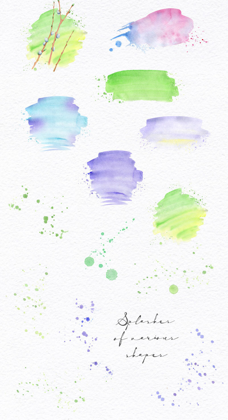 Spring Watercolor Collection 35