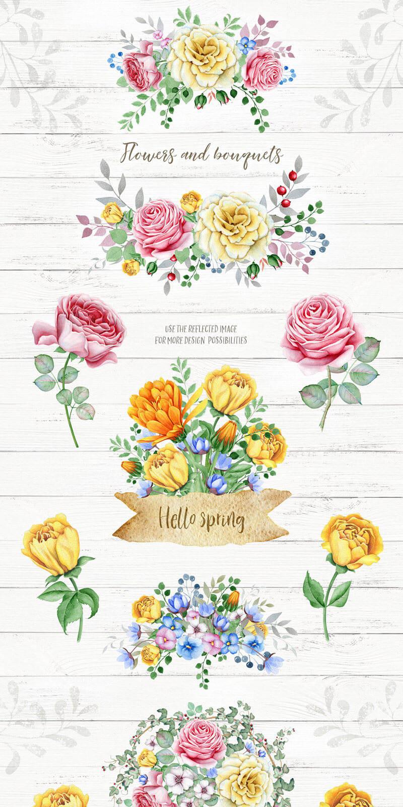 Spring Watercolor Collection 45