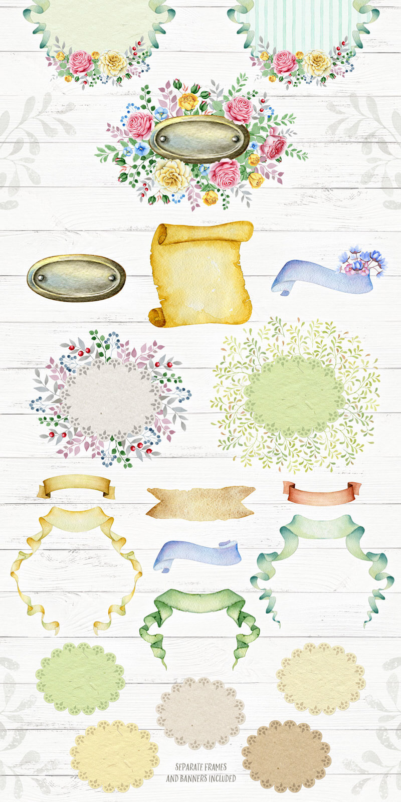 Spring Watercolor Collection 48