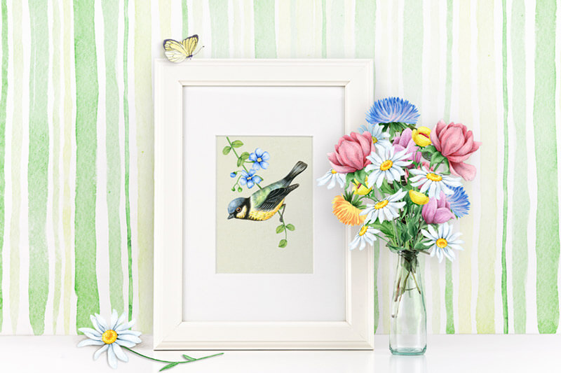 Spring Watercolor Collection 76