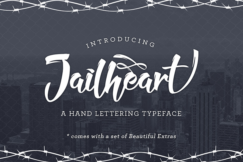 10 Awesome, unique calligraphy fonts Preview 1