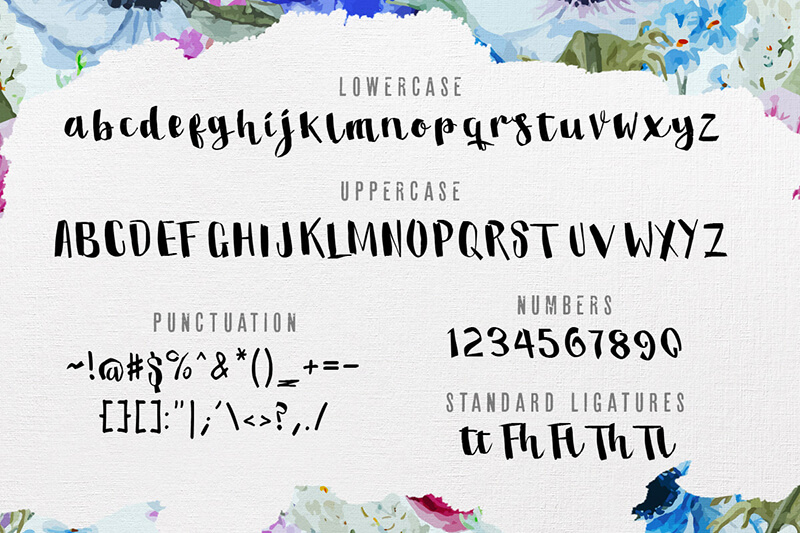 10 Awesome, unique calligraphy fonts Preview 12