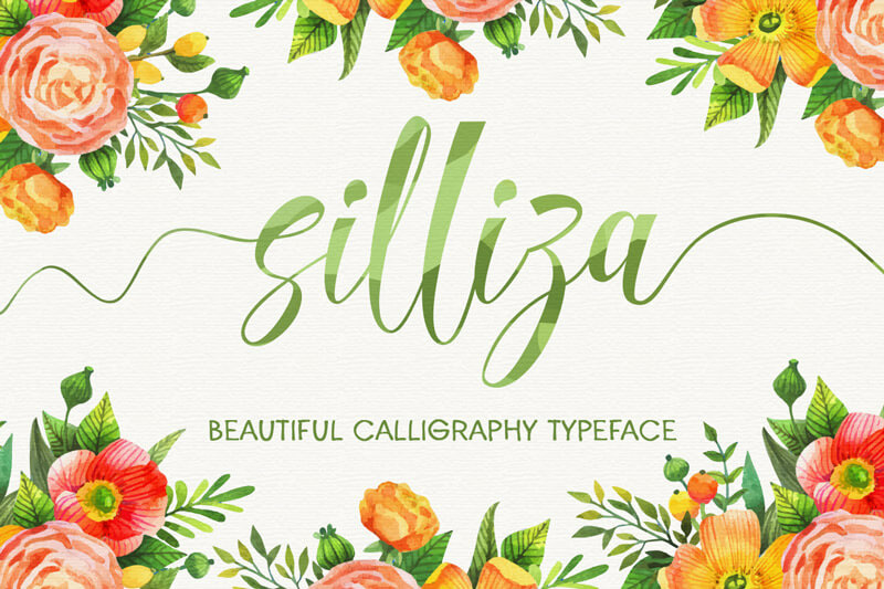 10 Awesome, unique calligraphy fonts Preview 18