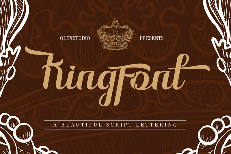 10 Awesome, unique calligraphy fonts Preview 30