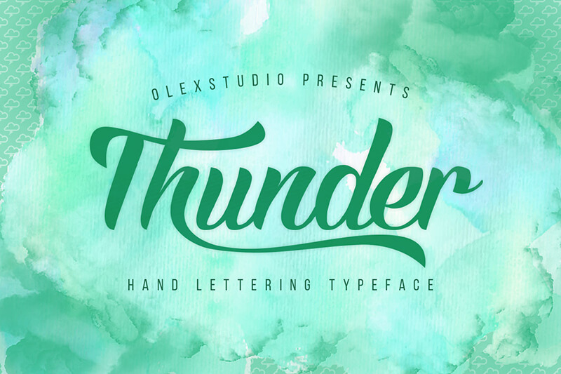 10 Awesome, unique calligraphy fonts Preview 37