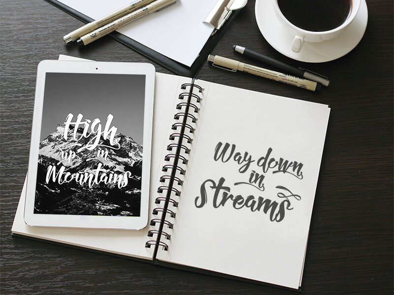 10 Awesome, unique calligraphy fonts Preview 4