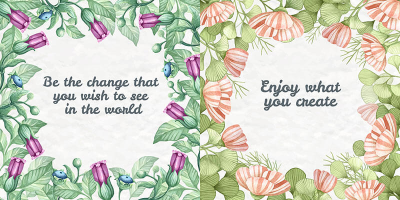 10 Floral Frame Preview 01