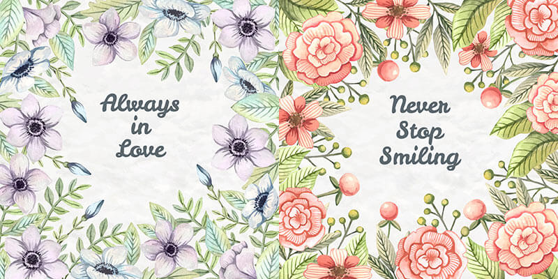 10 Floral Frame Preview 02