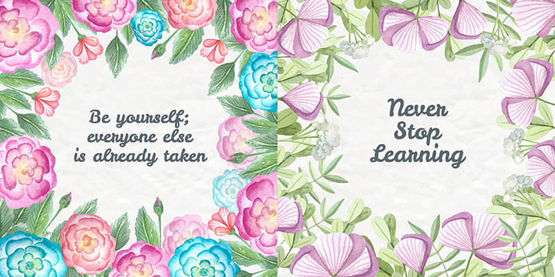 10 Floral Frame Preview 05
