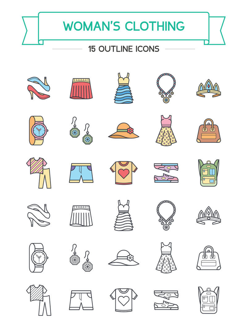 100 Illustrator Resources Bundle Preview 14