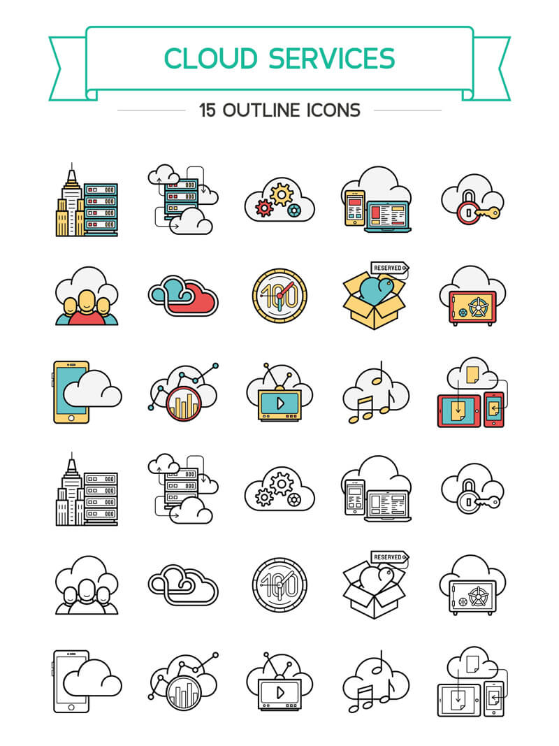 100 Illustrator Resources Bundle Preview 16