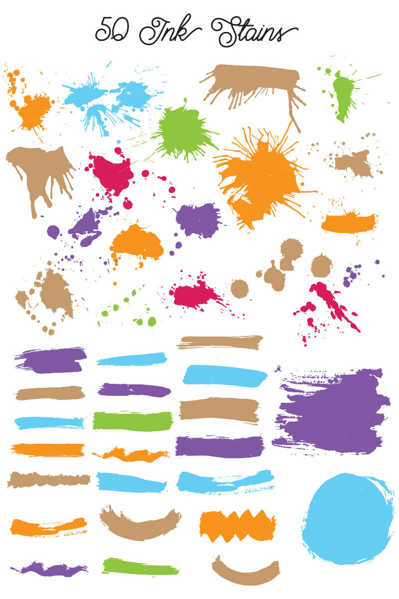 1000 Vectors and Watercolors Bundle Preview 10