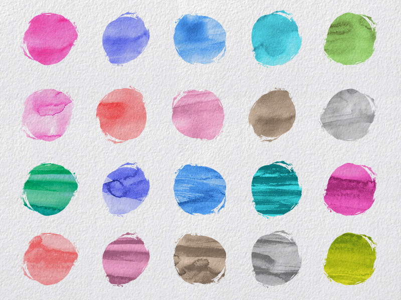 1000 Vectors and Watercolors Bundle Preview 14