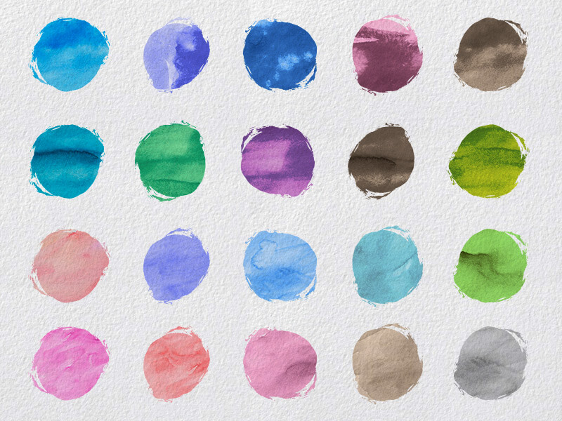 1000 Vectors and Watercolors Bundle Preview 15