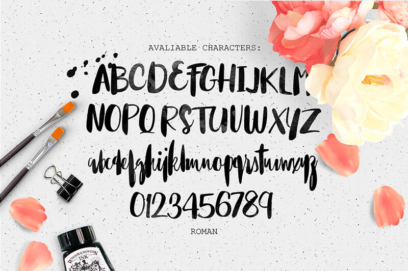 8 Incredible Written Fonts Preview 02