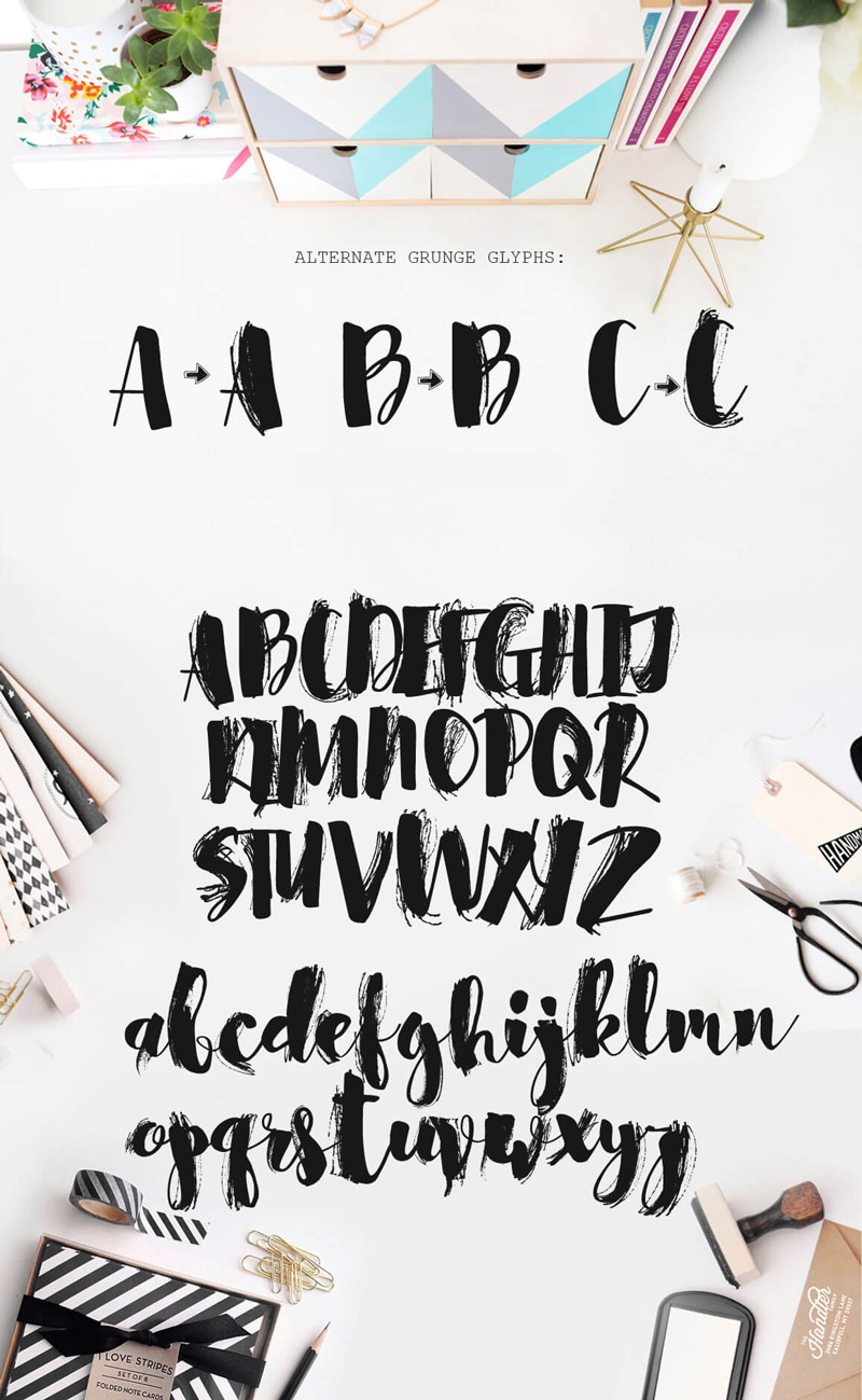 8 Incredible Written Fonts Preview 12