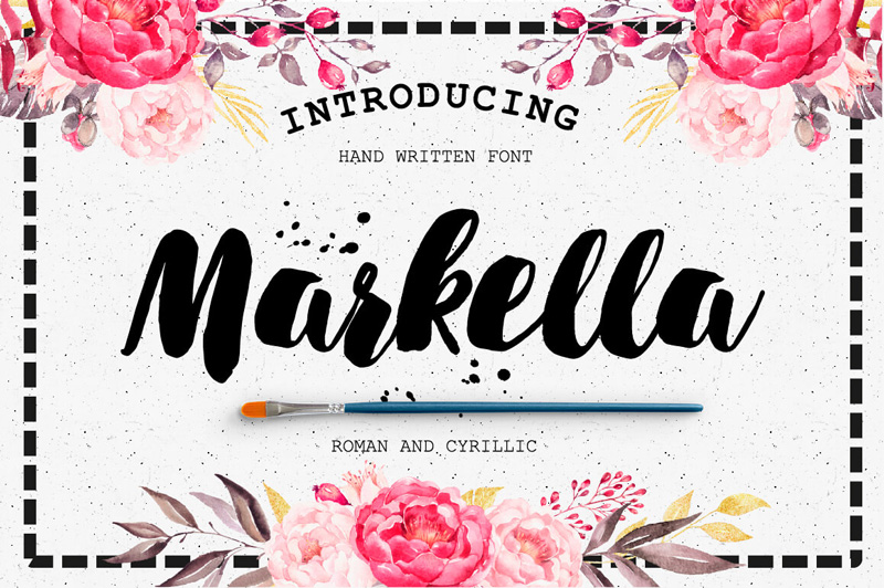 8 Incredible Written Fonts Preview 15