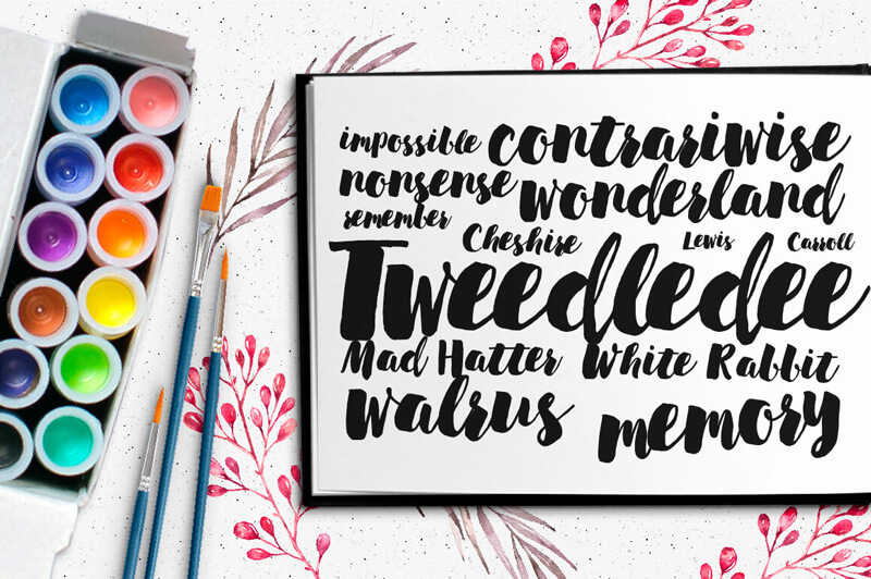 8 Incredible Written Fonts Preview 18