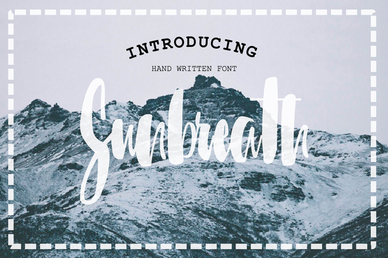 8 Incredible Written Fonts Preview 21