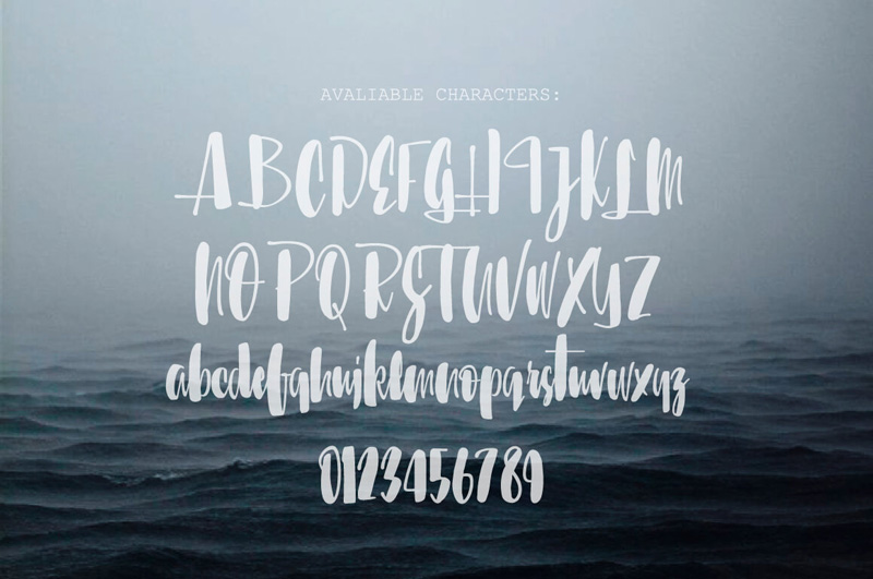 8 Incredible Written Fonts Preview 22