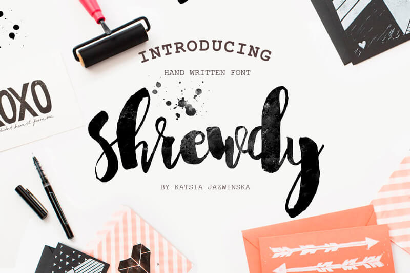8 Incredible Written Fonts Preview 25