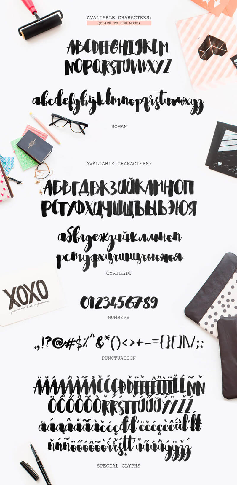 8 Incredible Written Fonts Preview 26