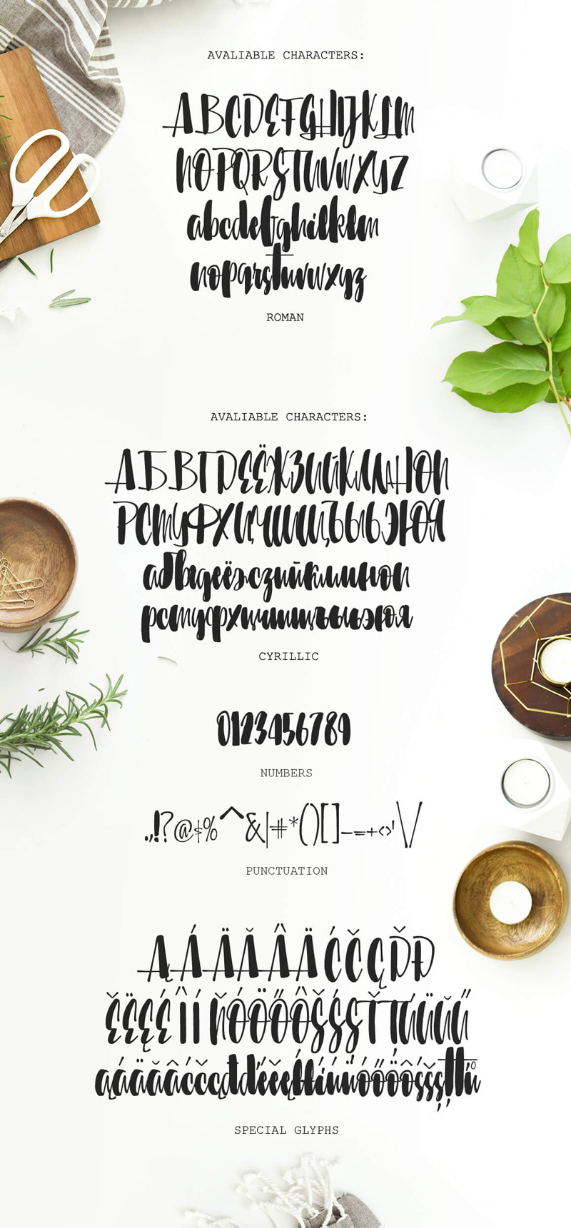 8 Incredible Written Fonts Preview 31