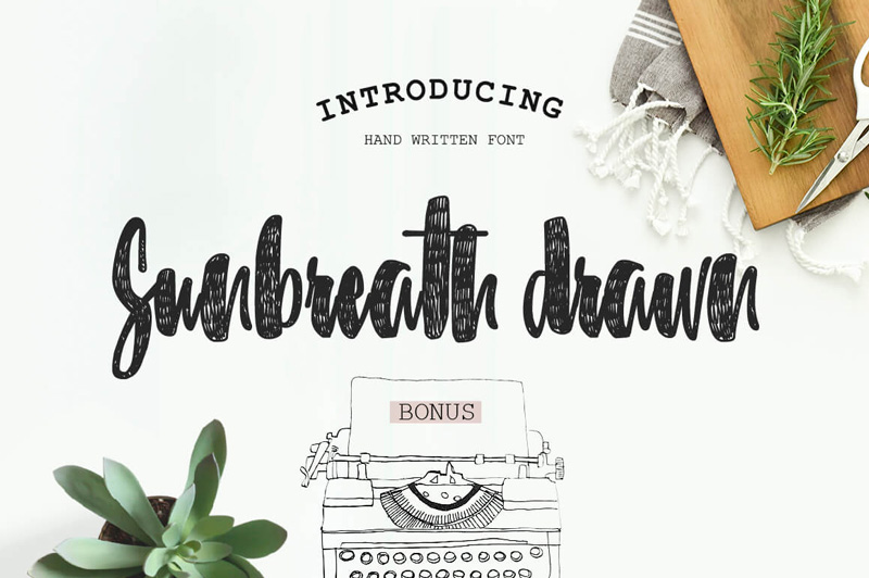 8 Incredible Written Fonts Preview 35