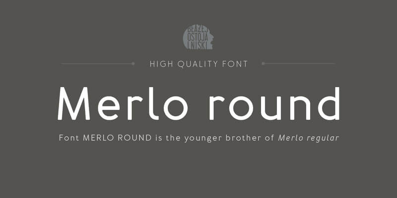 Awesome Collection of 5 Creative Family Fonts Preview 05