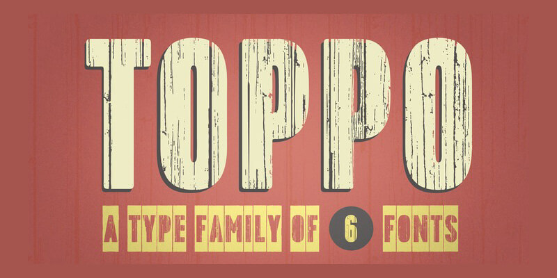 Awesome Collection of 5 Creative Family Fonts Preview 16