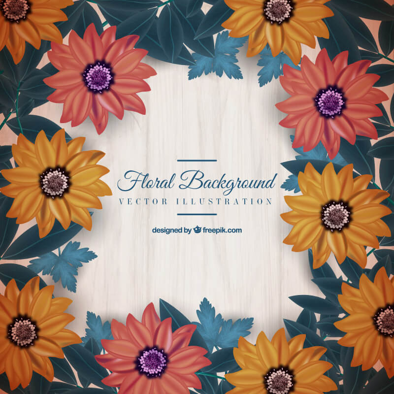 FREE Floral Wreath Preview 02