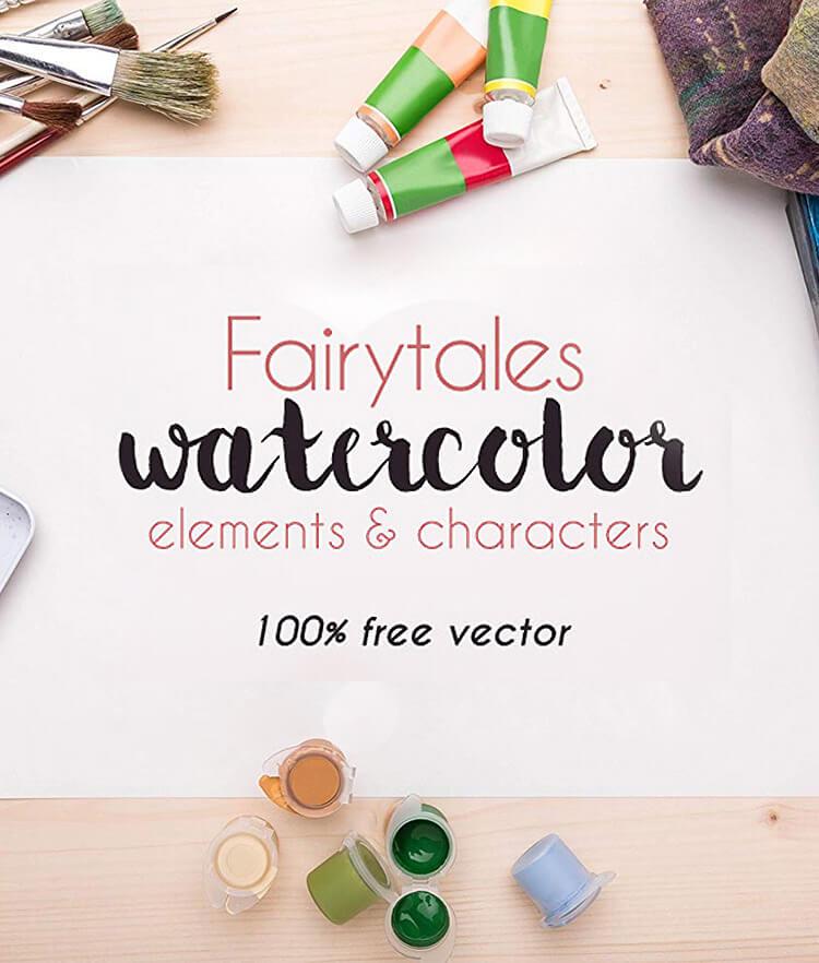 Fairytales Watercolor Cover 2