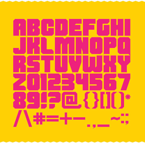Free Shumi Font Preview 01