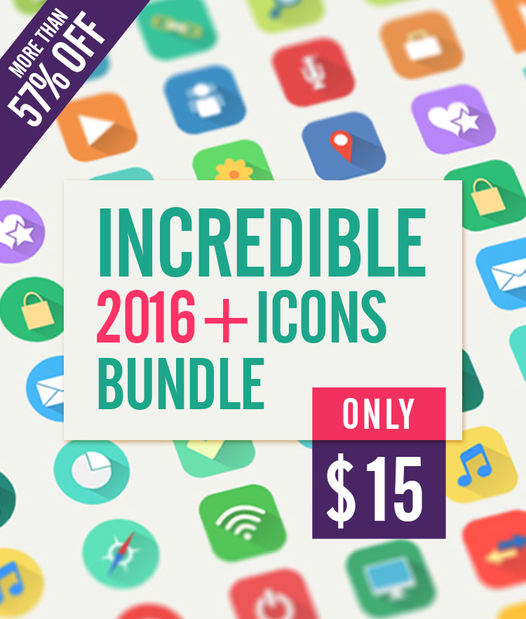 Incredible 2016 Icons Bundle Cover