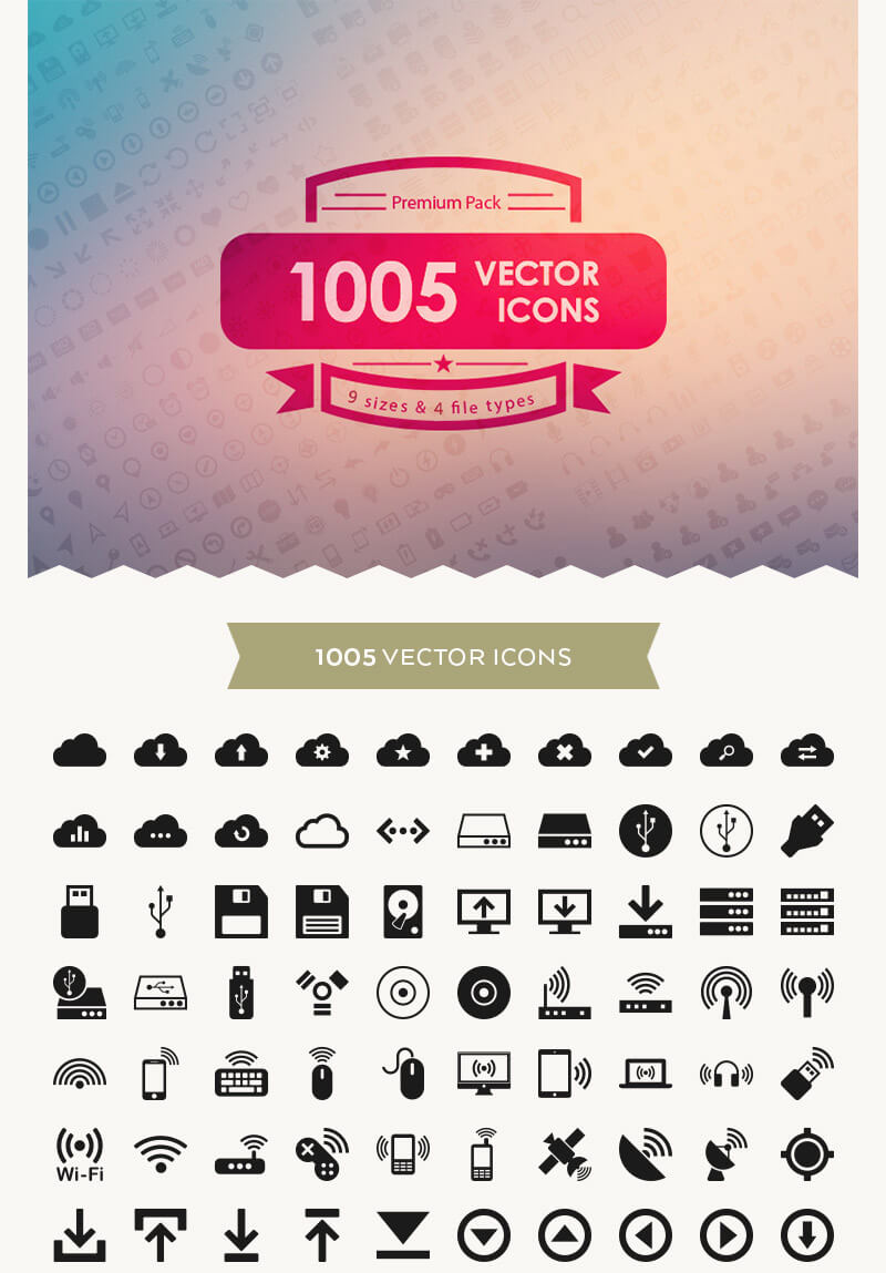Incredible 2016 Icons Bundle Preview 01