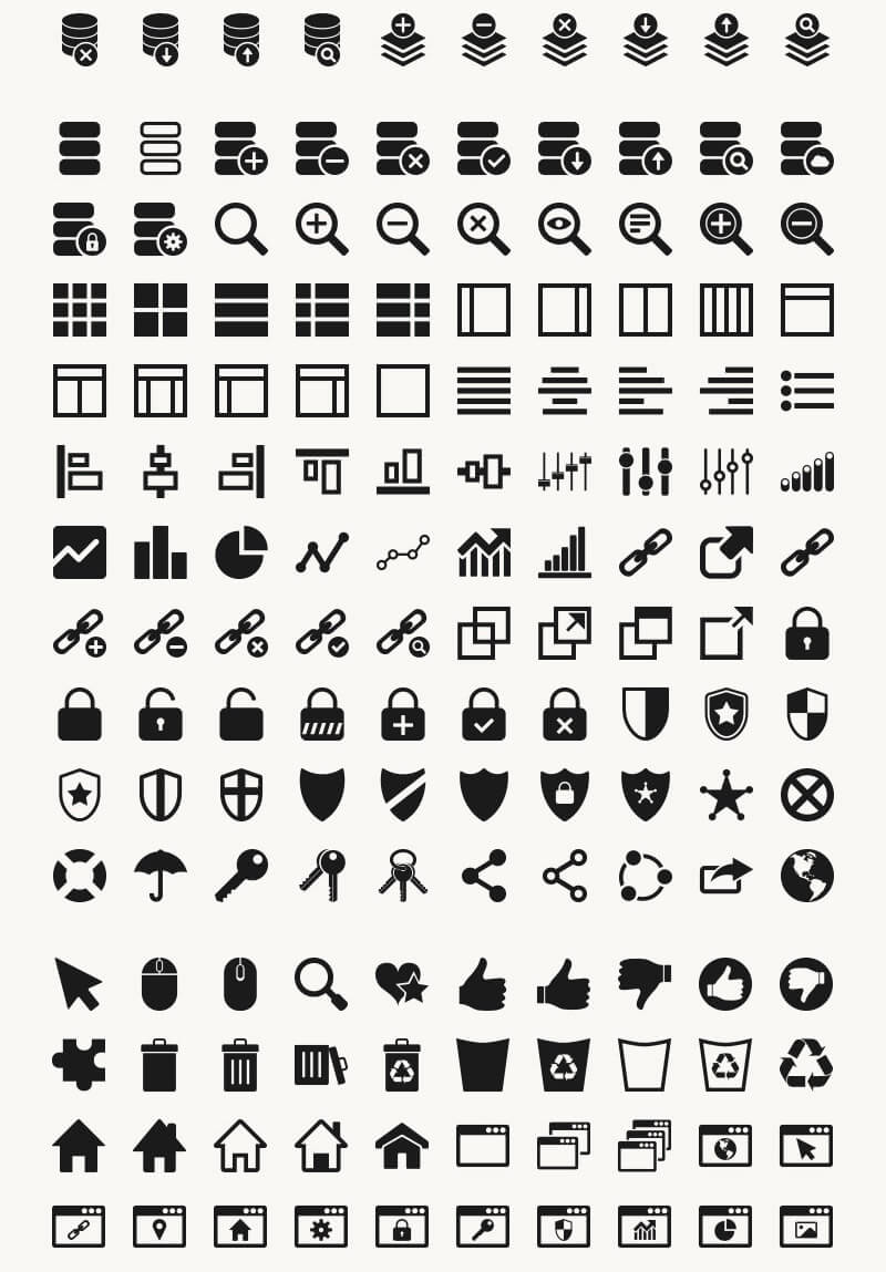 Incredible 2016 Icons Bundle Preview 06