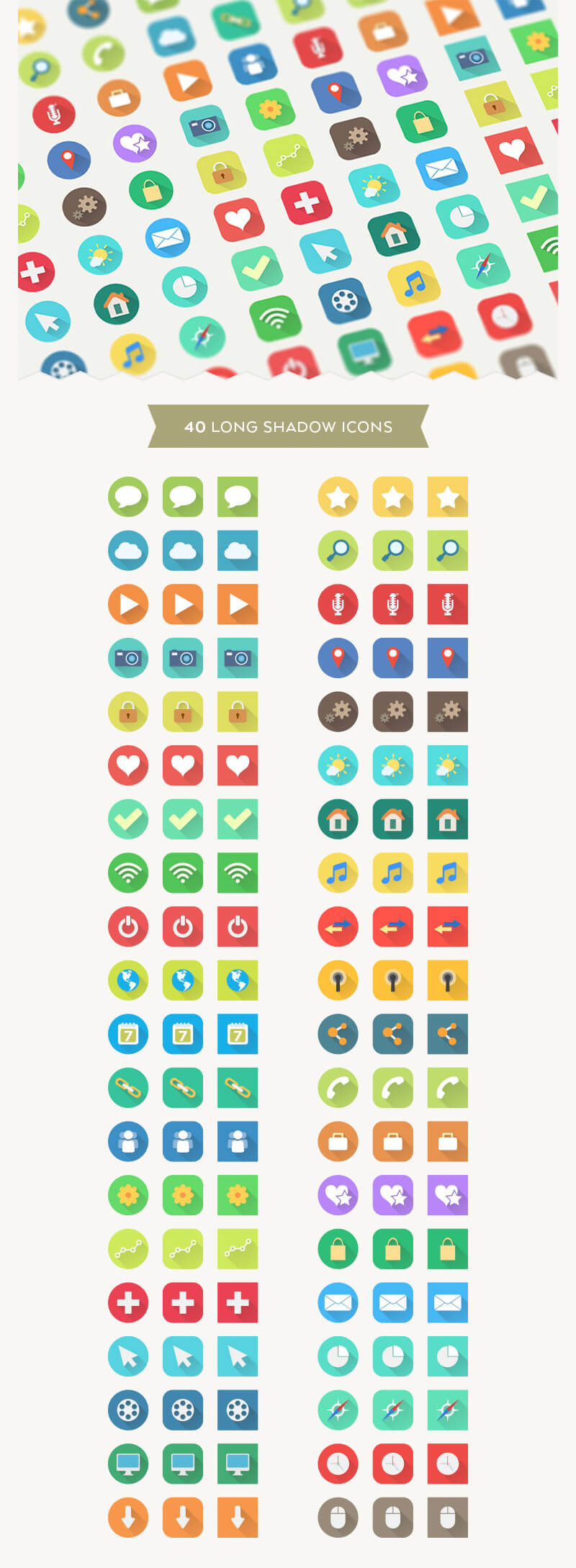 Incredible 2016 Icons Bundle Preview 12
