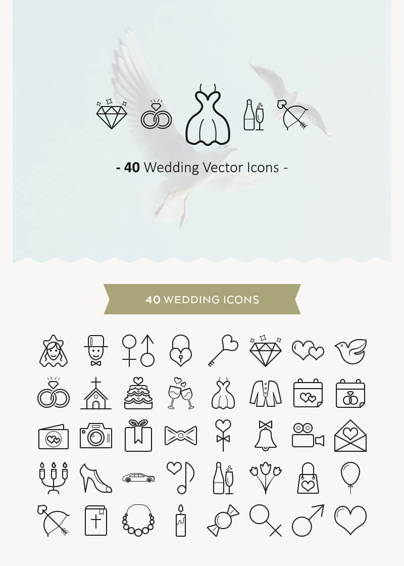 Incredible 2016 Icons Bundle Preview 13