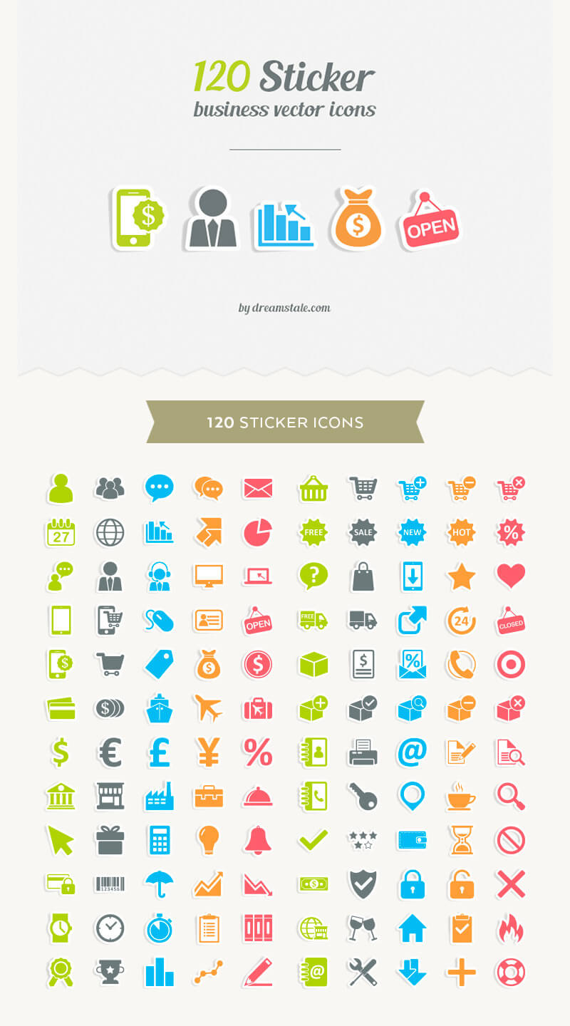 Incredible 2016 Icons Bundle Preview 18